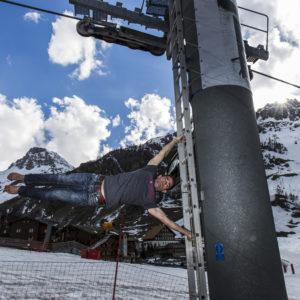 Perfectionner son gainage pour mieux skier à Val d'Isère