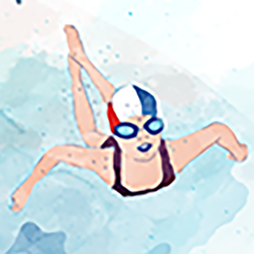 Josselin, maître-nageur à Loix