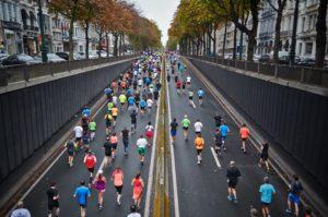 Courir un marathon avec une préparation sur tapis skillmill.