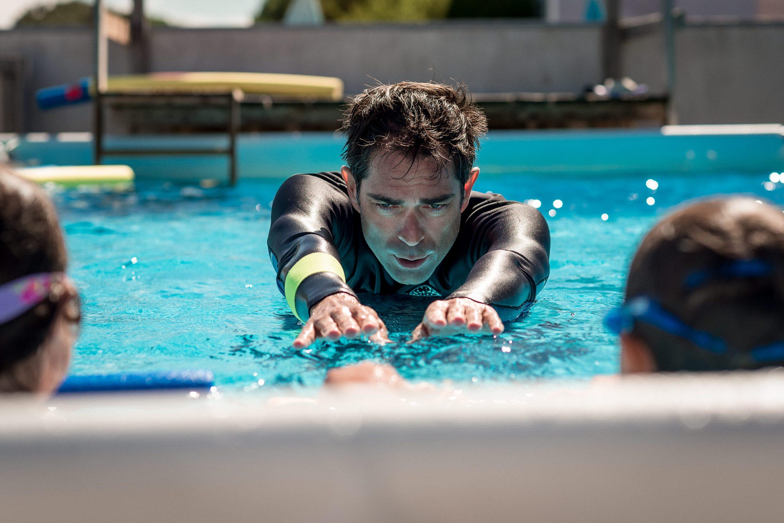 Josselin, maître-nageur